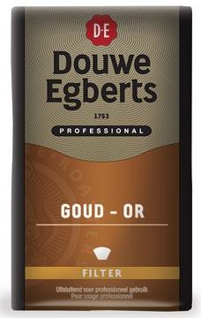 Douwe Egberts koffie, Gold/dessert, pak van 500 g