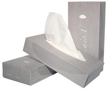Europroducts papieren zakdoeken, 2-laags, 100 vellen