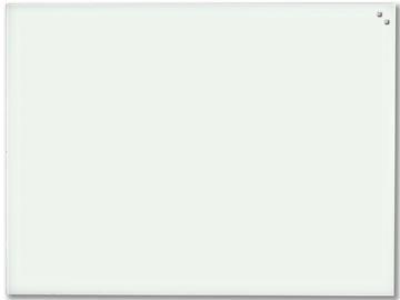 Naga Magnetisch glasbord, wit, ft 60 x 80 cm