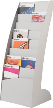 Paperflow vaste folderhouder Exposito Courbo, grijs