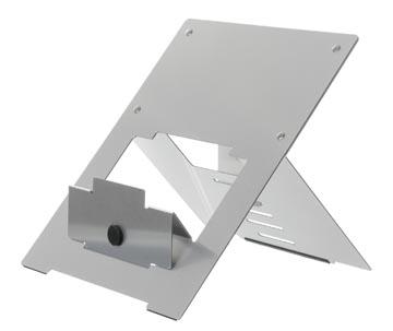 R-Go Riser Flexible laptopstandaard, zilver