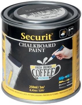 Securit krijtbordverf 250 ml zwart