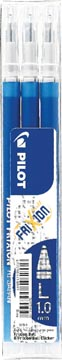 Pilot balpenvulling FriXion Ball/Clicker, blauw, etui van 3 stuks
