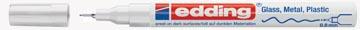 Edding glanslakmarker e-780 CR wit