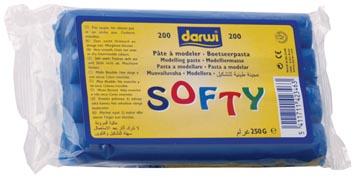Darwi boetseerpasta Softy blauw