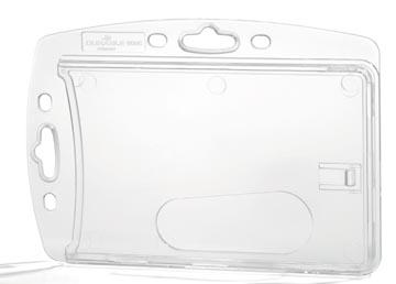 Durable houder voor veiligheidspas, doos met 10 stuks
