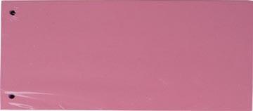 Pergamy verdeelstroken, pak van 100 stuks, roze