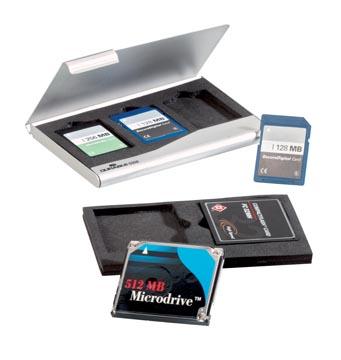 Durable memory card box