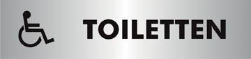 Stewart Superior zelfklevend pictogram toiletten voor andersvaliden